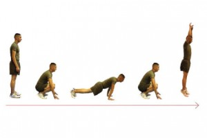 Torch Fat with the Burpee