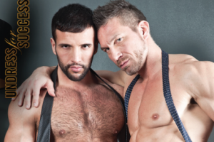 "Porn Crushes of the Day: Donato Reyes and Tomas Brand in ""Undress for Success"""