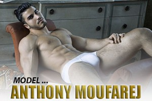 Man Crush of the Day: Model Anthony Moufarej