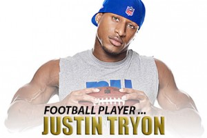 Man Crush of the Day: Football player Justin Tryon