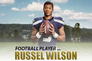 Man Crush of the Day: Football player Russel Wilson