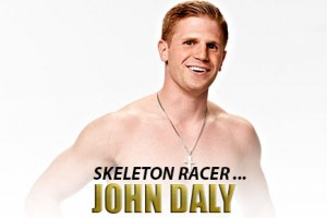 Man Crush of the Day: Skeleton racer John Daly