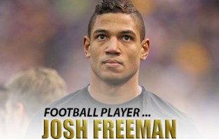 Man Crush of the Day: Football Player Josh Freeman