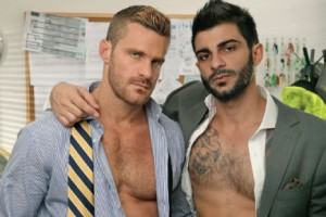 "Porn Crush of the Day: Landon Conrad and Rio Silver in ""Under Construction"""
