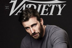 Eye Candy: Chris Evans for Variety Magazine